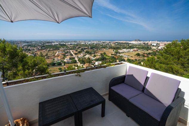 Image: Views from one of the terraces of an apartment in Dénia - Aguila Rent a Villa