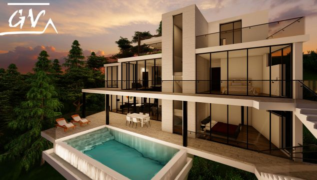 Image: Single-family housing project with luxury finishes in Altea - GV Arquitecnia