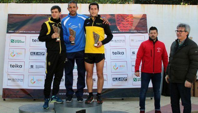Imagen: Youssef Ahatach en el podio de Palmera
