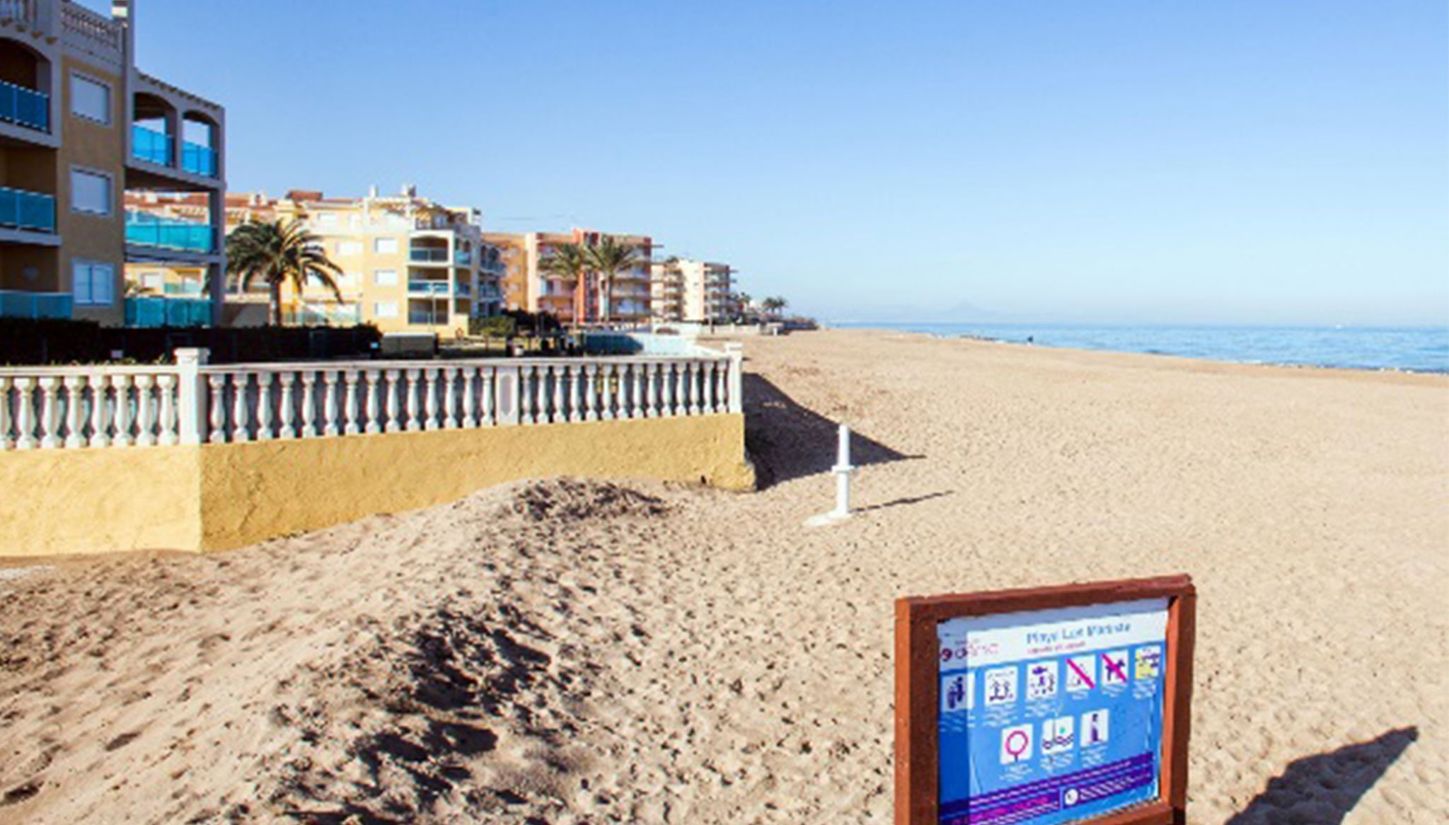 Apartment beach walk for rent in Dénia - Deniasol