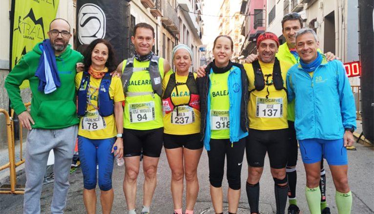 Atletas del Dénia Corre en Pedreguer