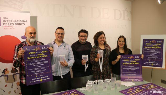 Imagen: Ayuntamiento y la Junta Local Fallera presentan su campaña de concienciación