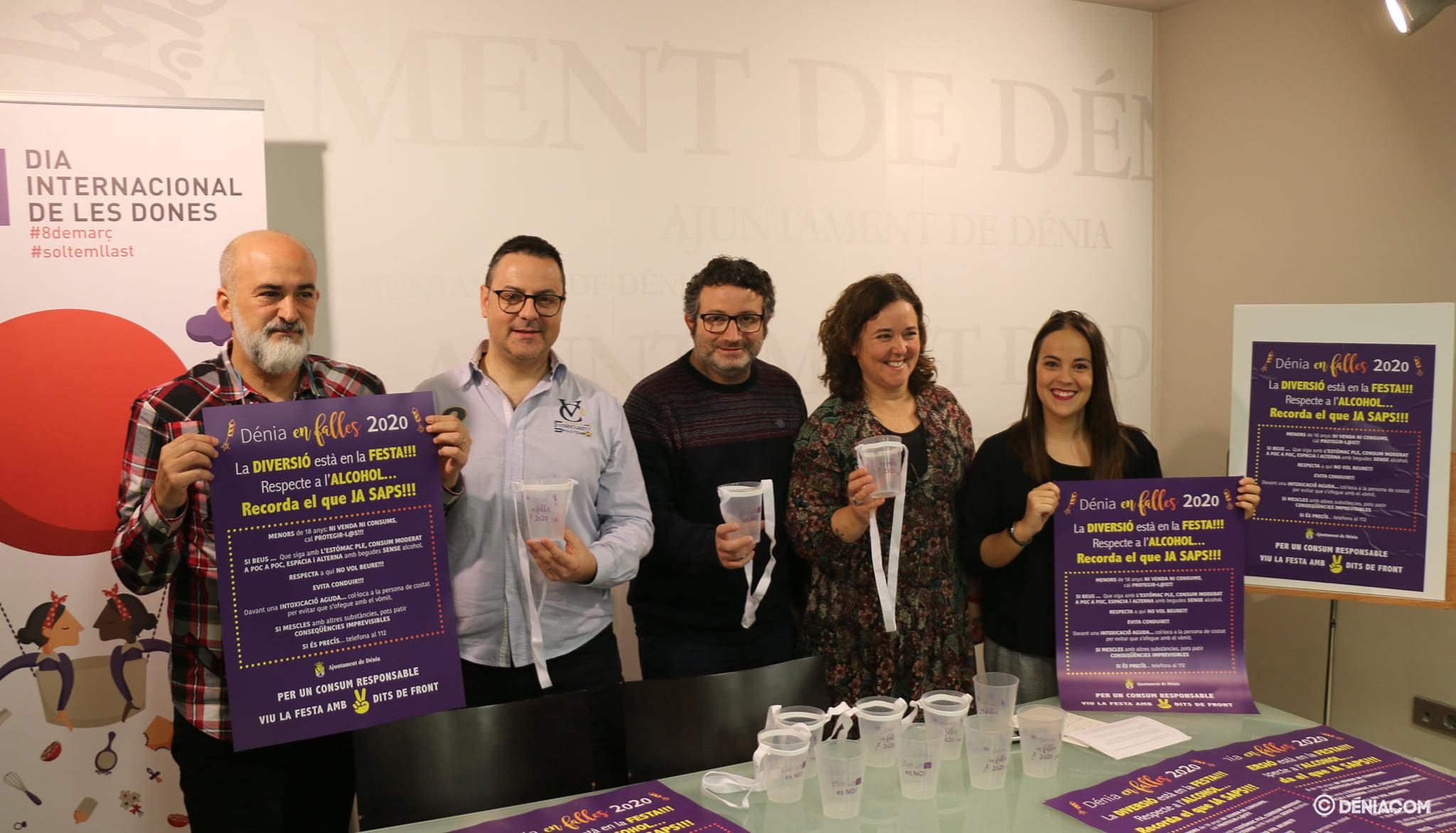 Ajuntament i la Junta Local Fallera presenten la seva campanya de conscienciació