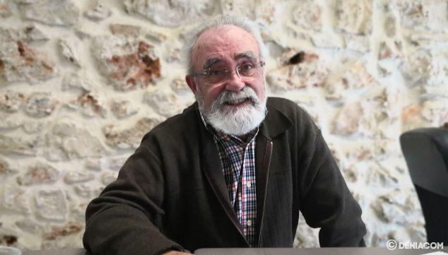 Imatge: Carmelo Nofuentes, durant la conversa amb Dénia.com