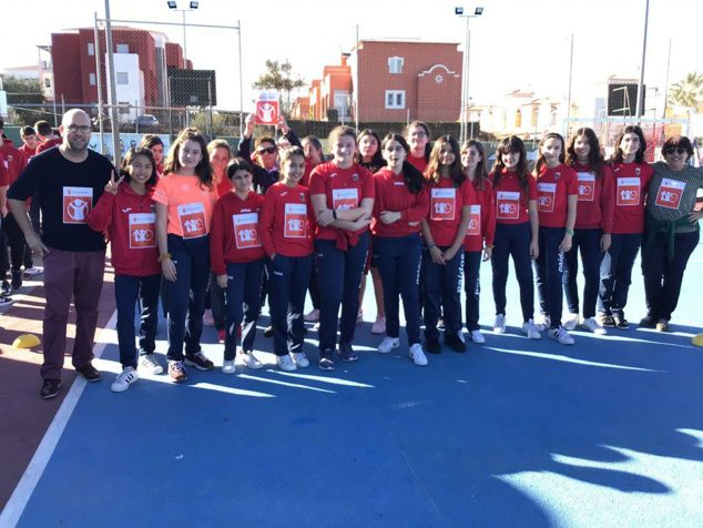 Imagen: Carrera solidaria del colegio Paidos de Dénia en beneficio de Save the Children