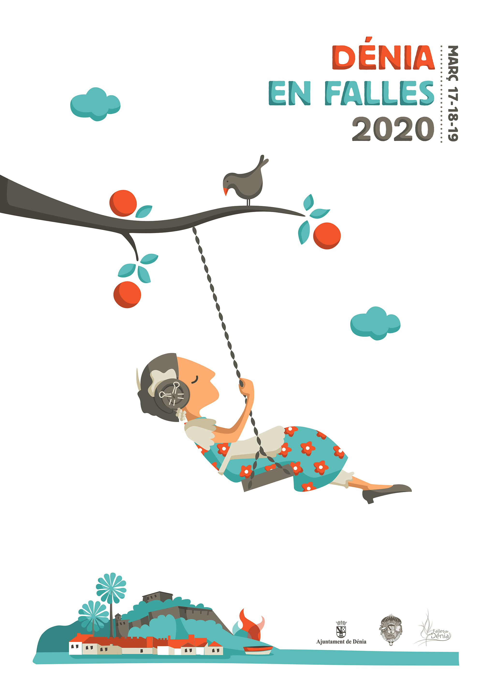 Cartell Falles Dénia 2020