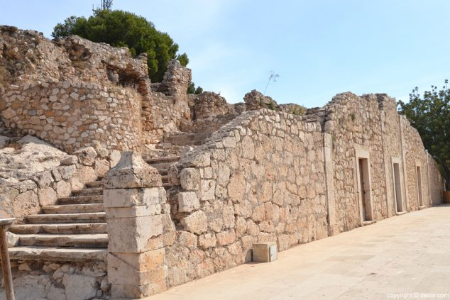 Imagen: Castillo de Dénia