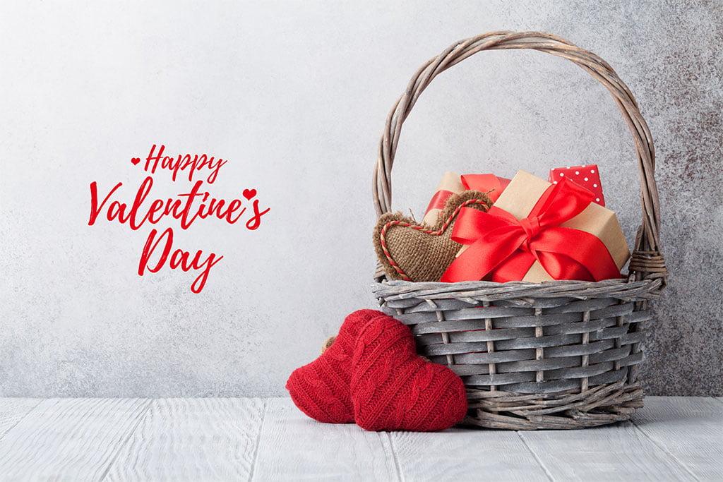 Cesta especial de San Valentín Dénia.com 2020