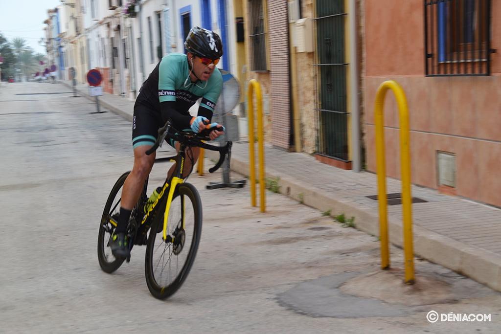Ciclista 3 en la cronoescalada