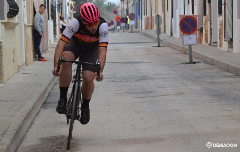 Ciclista 4 en la cronoescalada