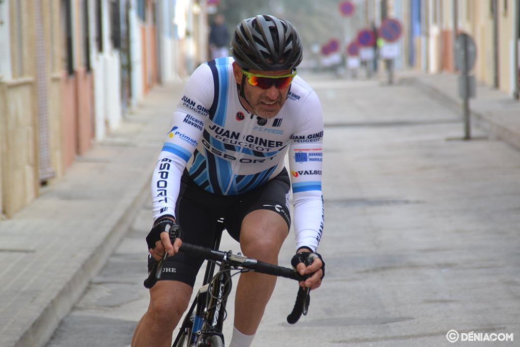 Ciclista 5 en la cronoescalada
