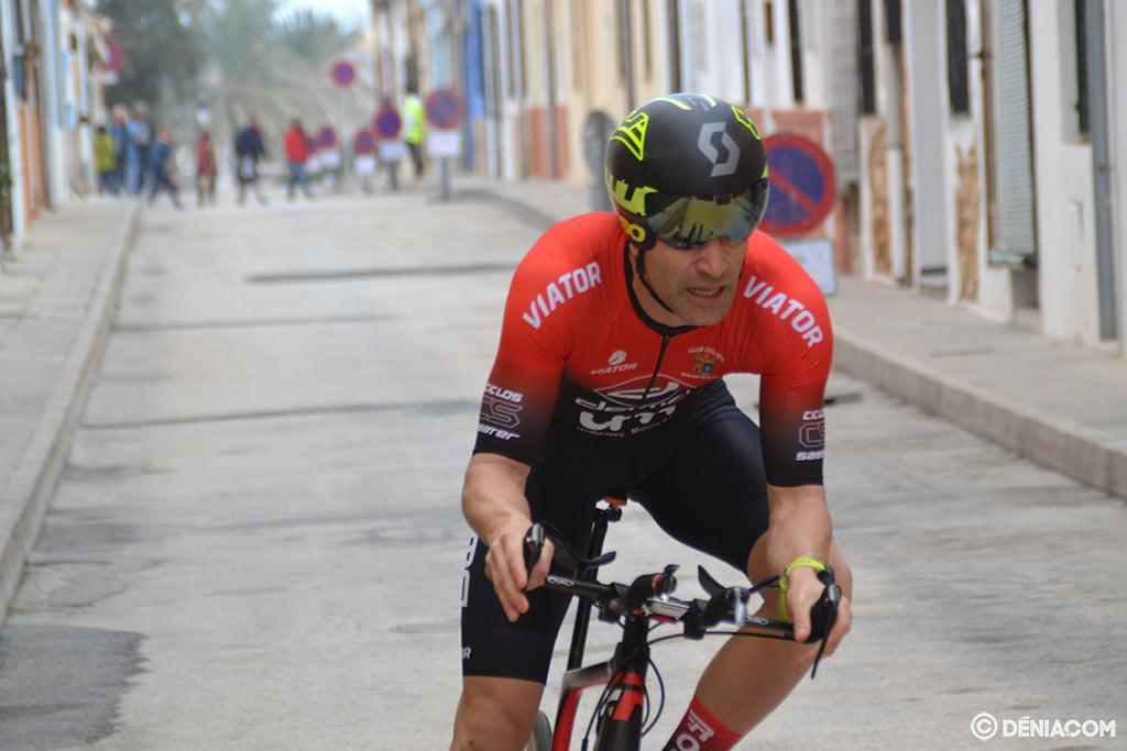 Ciclista 6 en la cronoescalada