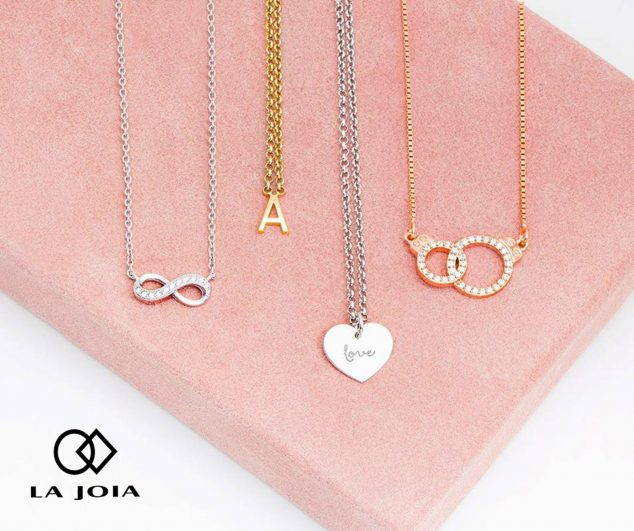 Imagen: Colgantes de acero, plata y oro - La Joia