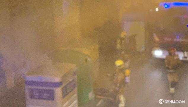 Bild: Rauchsäule des Temple de Sant Telm