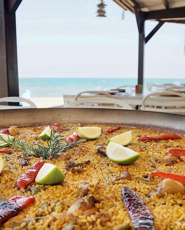 Imagen: Comer paella en Dénia con vistas al mar - Restaurant Noguera
