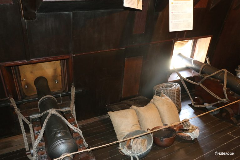 Inside the Galleon Andalusia 22