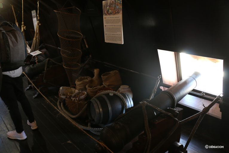Inside the Galleon Andalusia 23