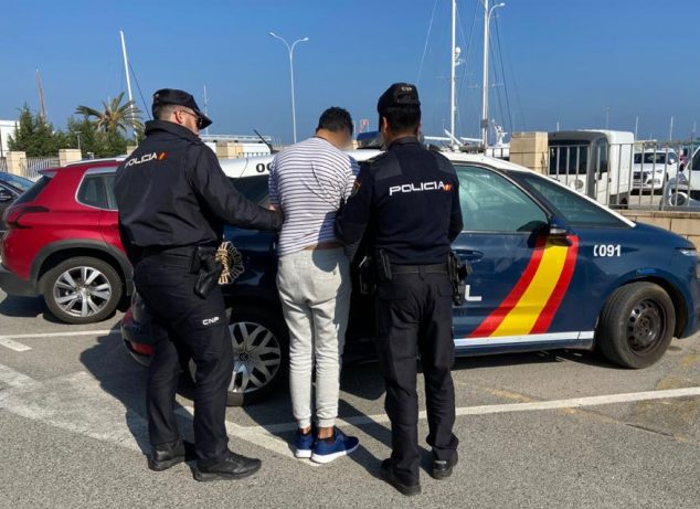 Image: Arrested in Dénia