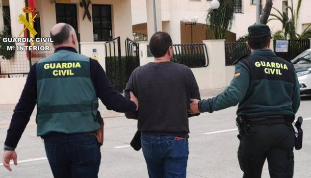 Imagen: Detenido por la Guardia Civil de Calp
