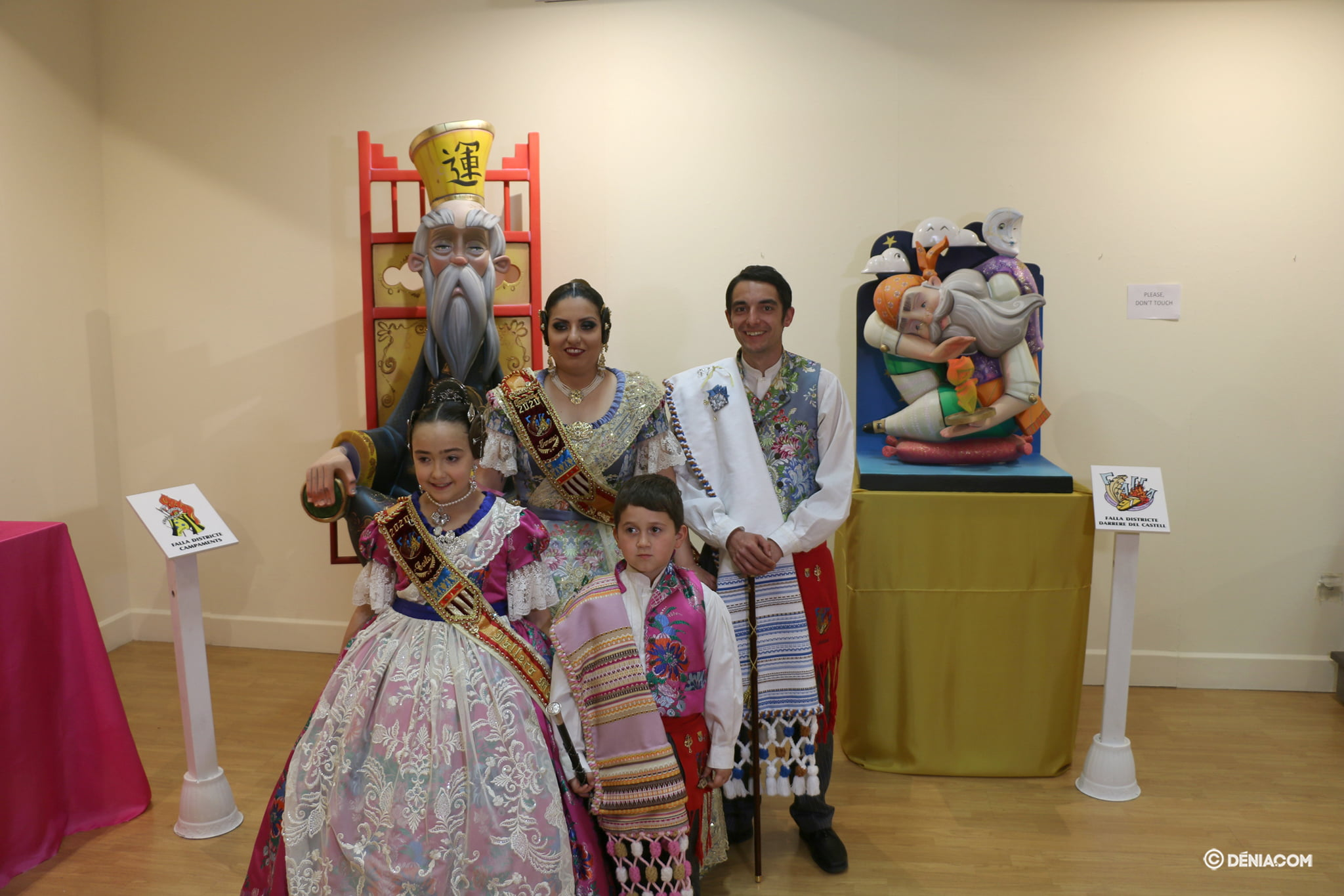 Exhibition of the Ninot 2020 - Falla Darrere del Castell