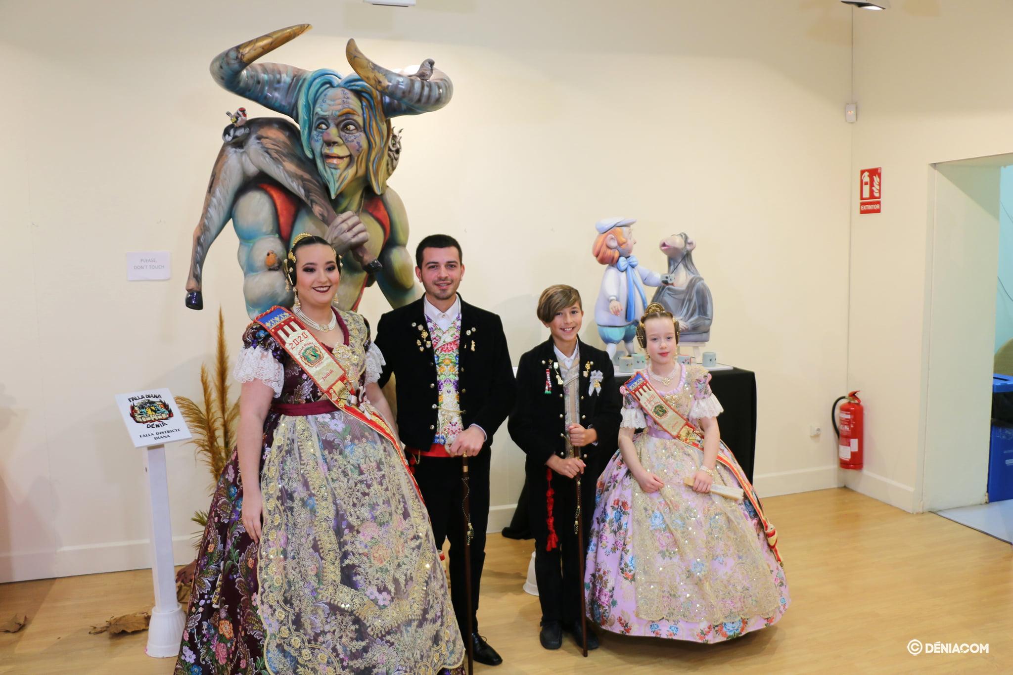 Ninot 2020 Exhibition - Falla Diana
