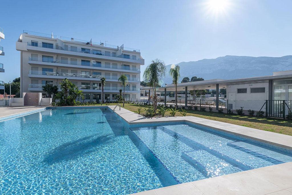 Vista d'un apartament per a vacances a Dénia - Quality Rent A Villa