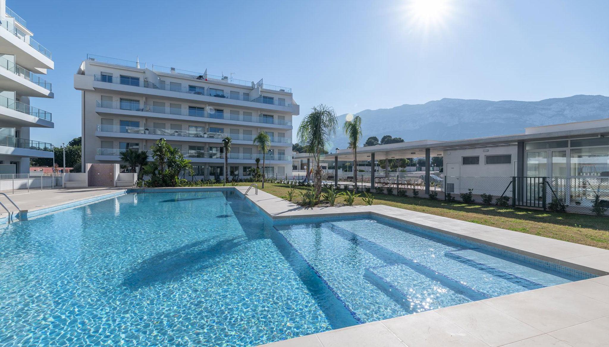 Vista exterior d'un apartament per a vacances a Dénia - Quality Rent A Villa