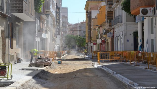 Image: Stock photo of the works of Colón Street