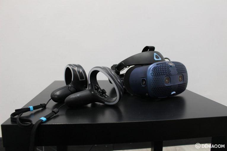 Gafas de realidad virtual en Game Station