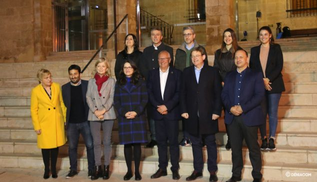 Image: Government of the Generalitat with Grimalt in the City Hall