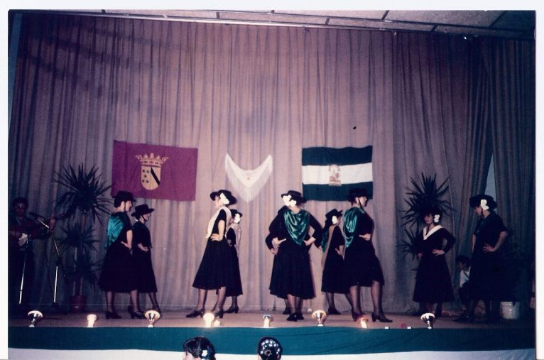 Celebration of Andalusia Day in 1989 (Photo: Social Networks of the House of Andalusia)