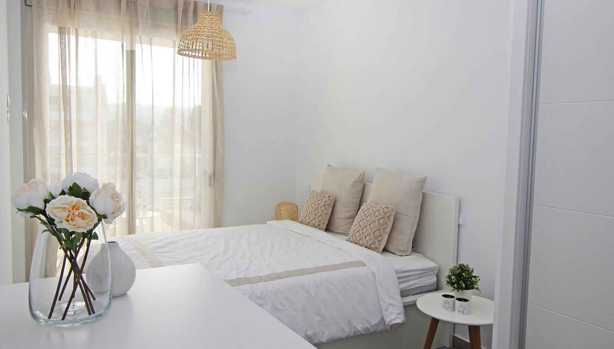 Habitació d'un apartament de lloguer a la urbanització Marina Reial a Dénia - Quality Rent a Vila
