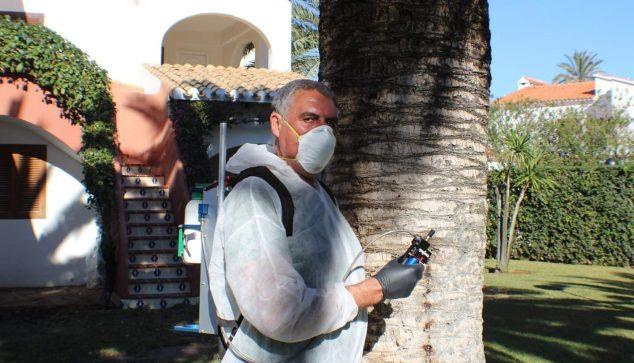 Imagen: José Félix Turpin durante su jornada laboral habitual