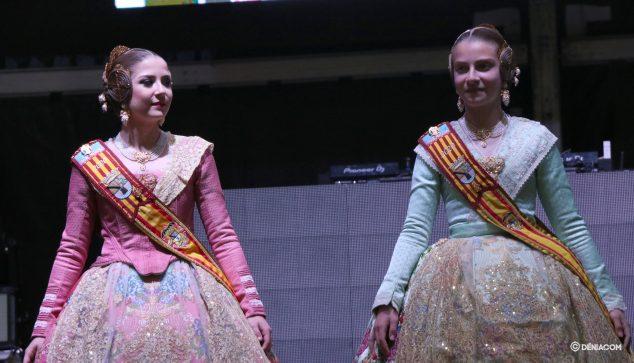 Imatge: La Falleres Majors de Dénia al Sopar de l'Germanor