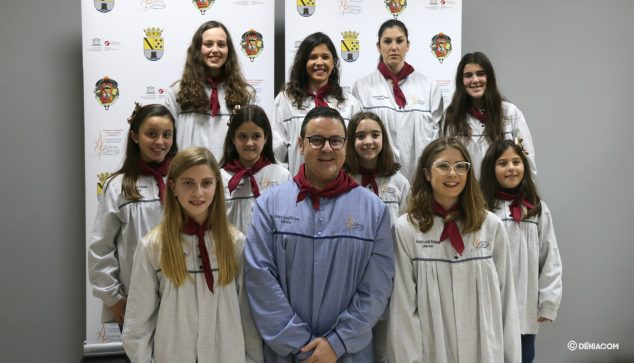 Afbeelding: De Local Board Fallera presenteert het Fallas-programma 2020