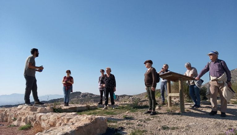 The UNED Senior visits Herna