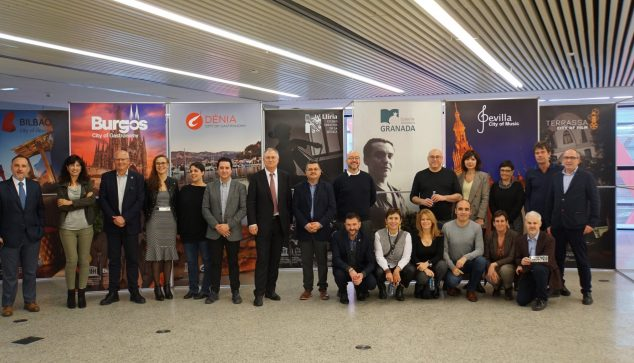 Image: Delegations of the UNESCO Creative Cities of Spain