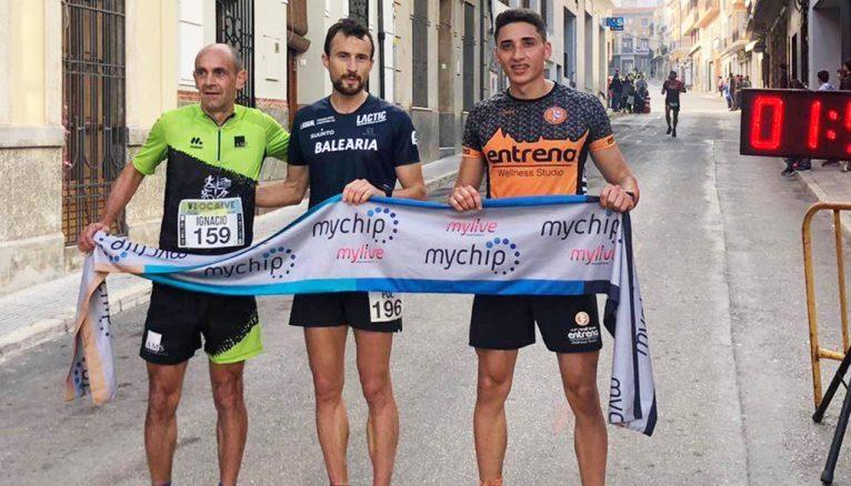 Los primeros clasificados de los 21 Kilómetros