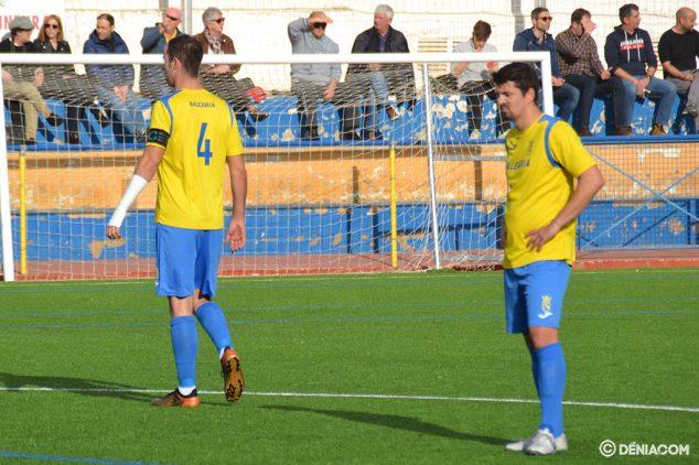 Afbeelding: Lucas met Ferrán tijdens een wedstrijd