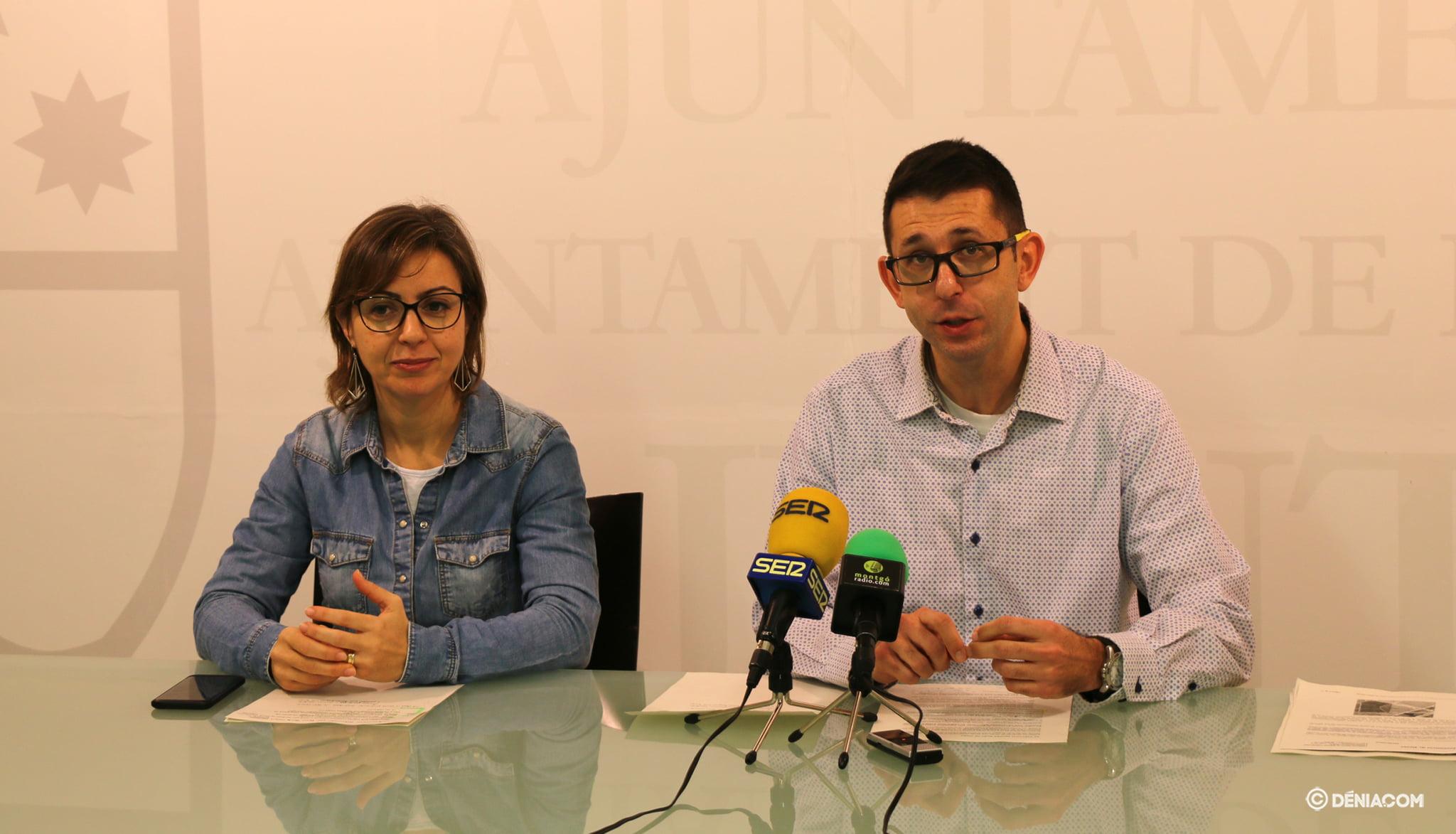 Maria Josep Ripoll y Pepe Doménech presentan el nuevo Bosc de Diana