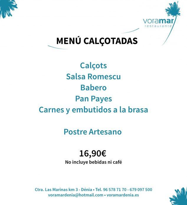 Imagen: Menú calçotada - Restaurante Voramar