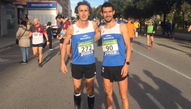Imagen: Moha Rida y Víctor Fernández