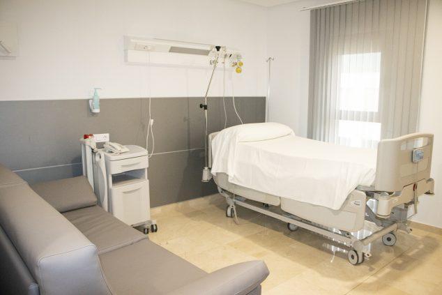 Imagen: Nuevas habitaciones en HLA San Carlos