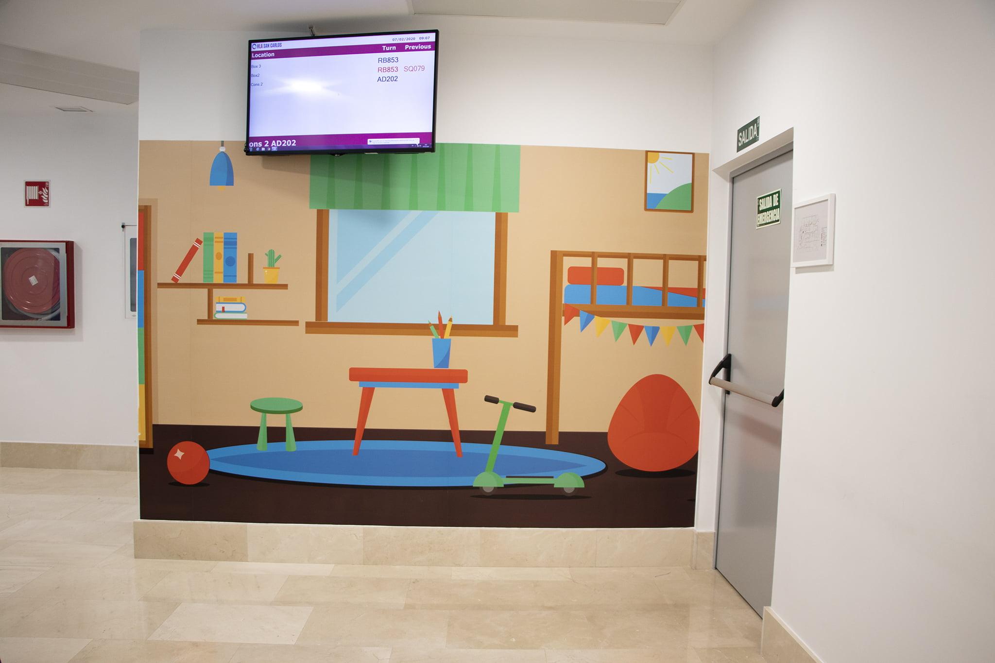 Nuevas instalaciones – HLA San Carlos