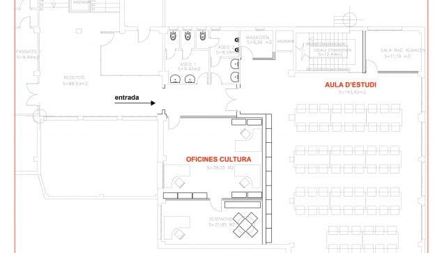 Afbeelding: Classroom map
