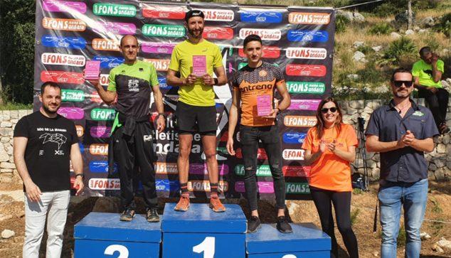 Image: Male absolute podium 21 Km