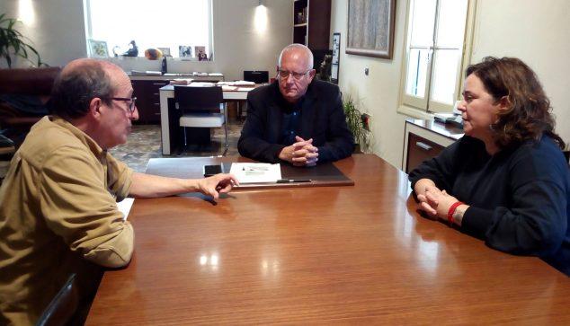 Imatge: Reunió Ajuntament i AGRÓ