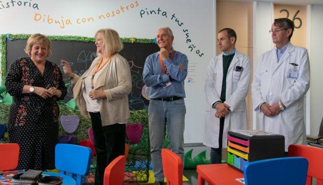 Imagen: Sala de espera del hospital