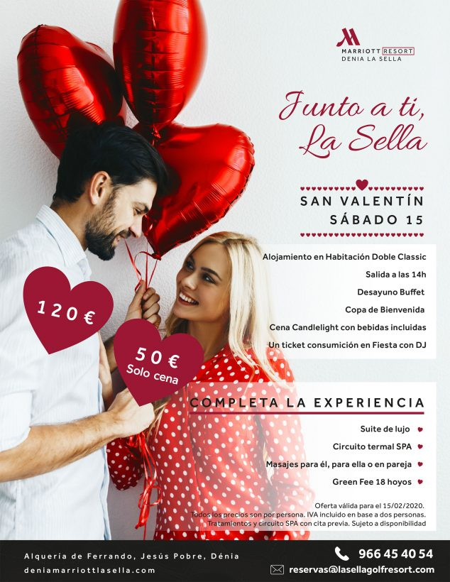 Image: Celebrate Valentine's Day at the Dénia Marriott La Sella Golf Resort & Spa Hotel