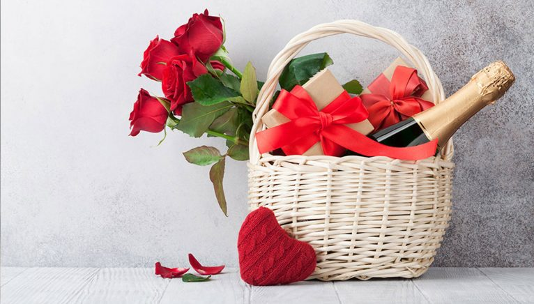 Cesta de San Valentín 2020